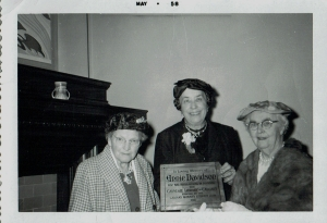 1958 Photo of Calgary Women's Literary Club members