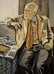 Portrait of Halldor Laxness by Einar Hakonarson 1984 via Wikimedia Commons